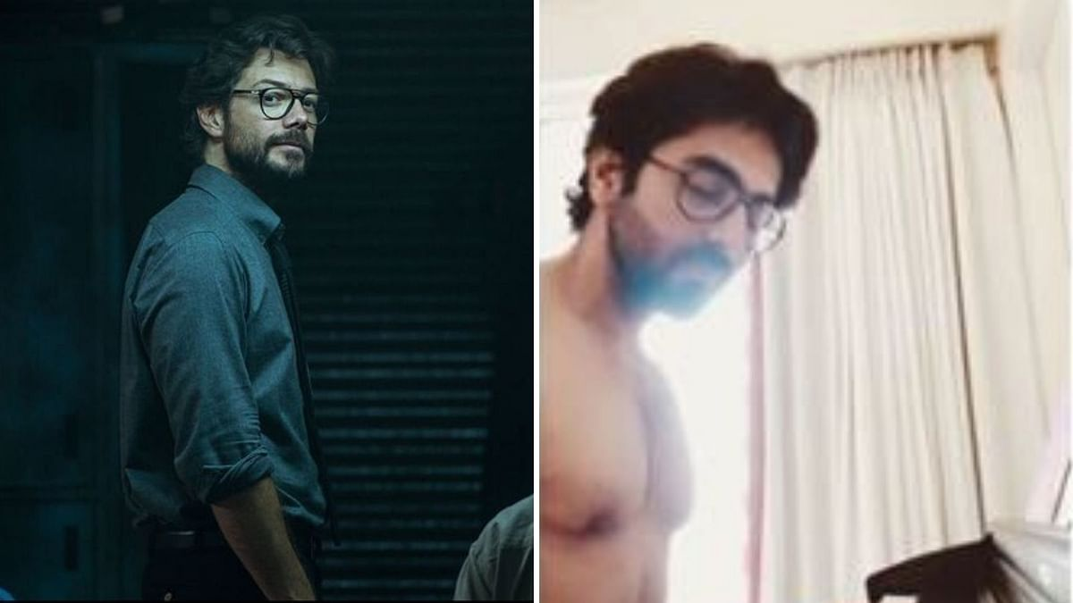 Ayushmann Khurrana as Professor from <i>Money Heist</i>