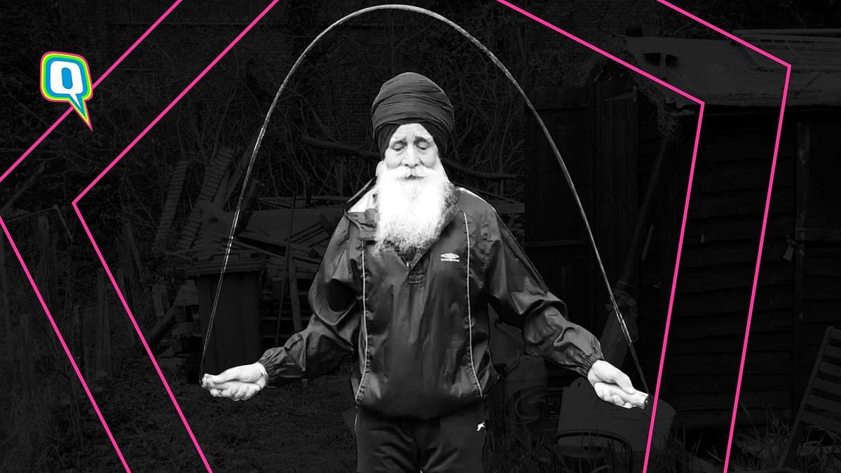 Quarantine Fitness: 70-Yr-Old Sikh Grandpa Skipping Rope is GOALS!
