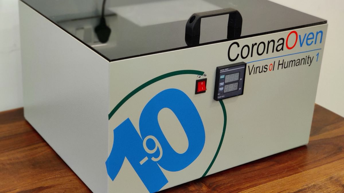 This 'Corona Oven' Aims To Disinfect Goods With UV-C Light