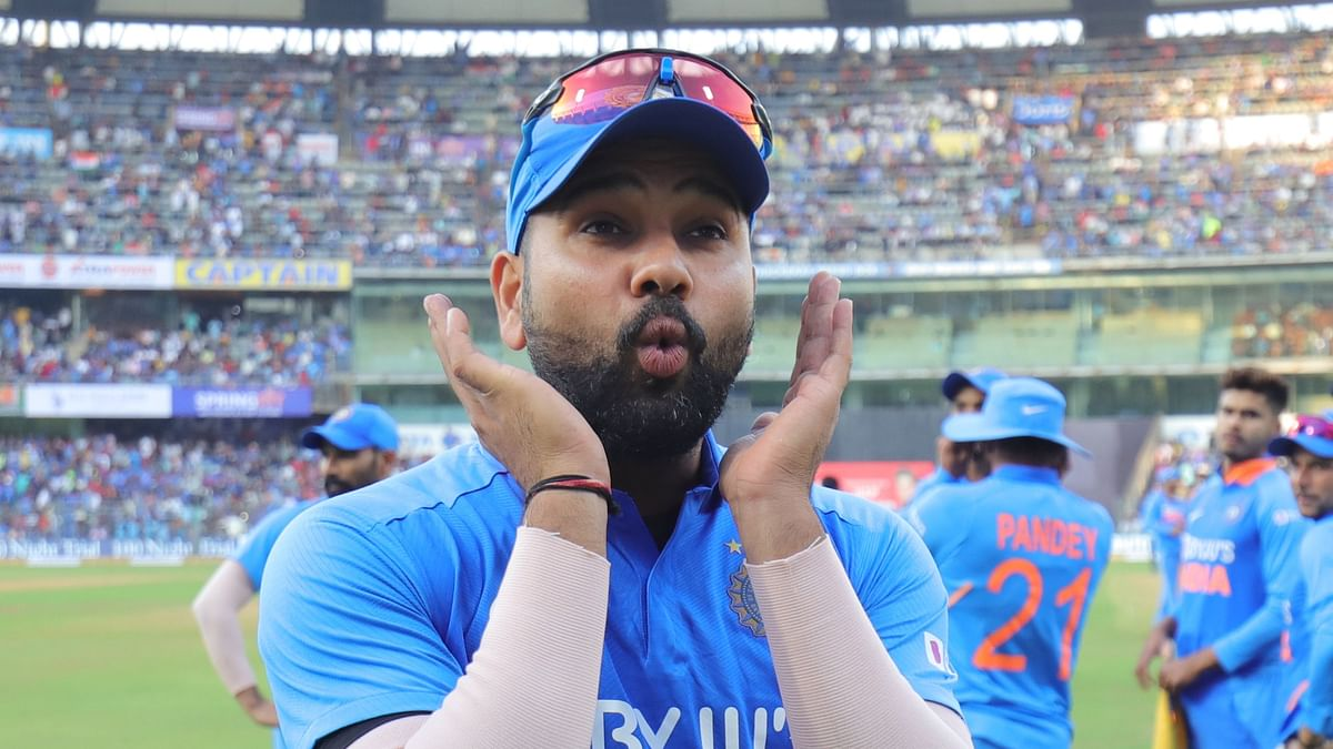 Rohit Sharma posted a message saying his 33rd birthday was a day of mixed emotions.