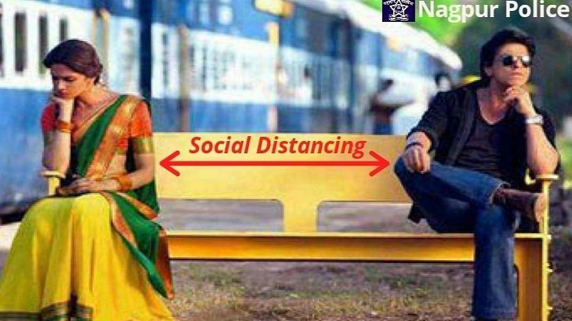 Nagpur Police Posts 'Chennai Express' Meme on 'Social Distancing'