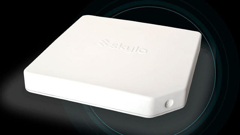 The Skylo Hub satellite transmitter-receiver.