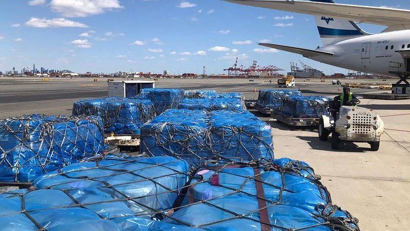 A photo tweeted out by the Indian Ambassador to the US on India's shipment of hydroxychloroquine reaching US.