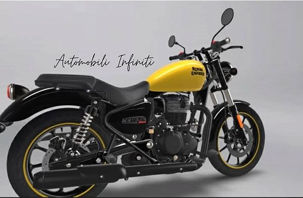 The Royal Enfield Meteor 350 sports laidback cruiser styling.
