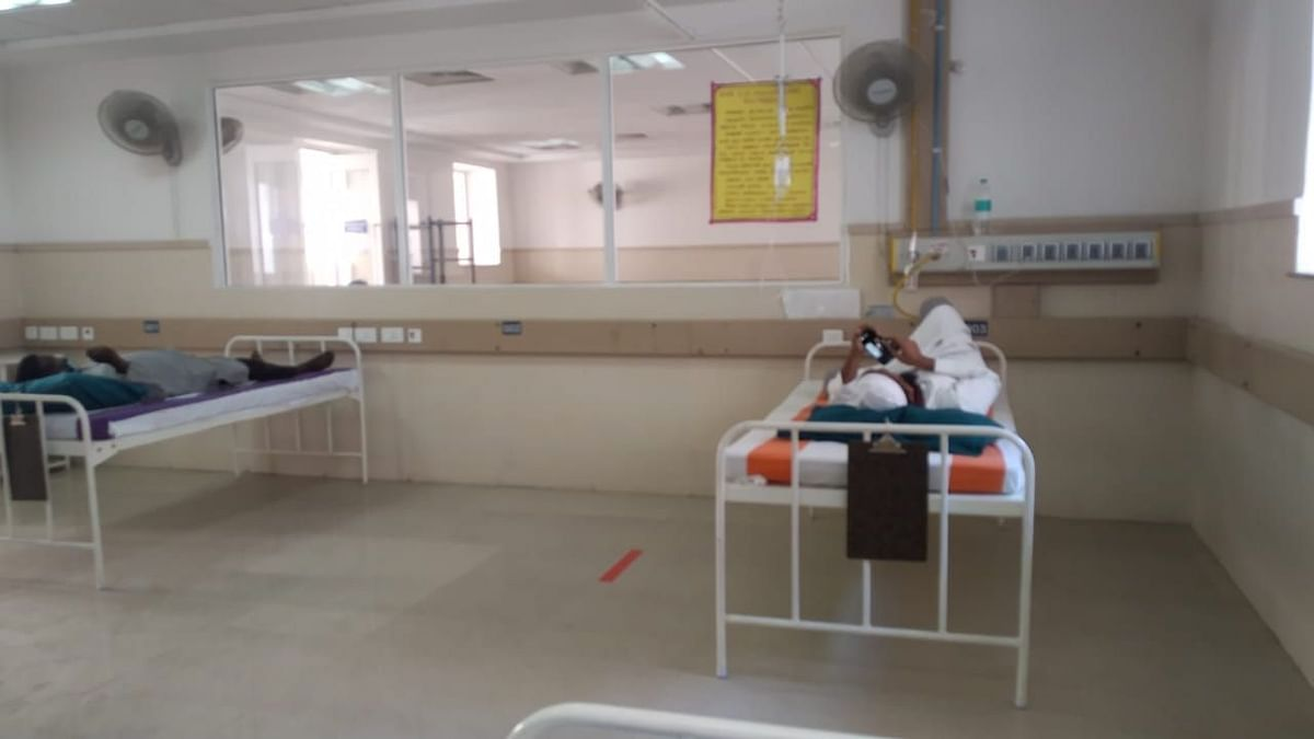 The health facilities, he assured were adequate and there was no discrimination that any of them faced in the COVID-19 wards.