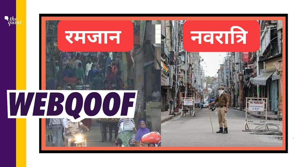 Jammu Picture Passed Off as Navaratri in Delhi Amid COVID Lockdown
