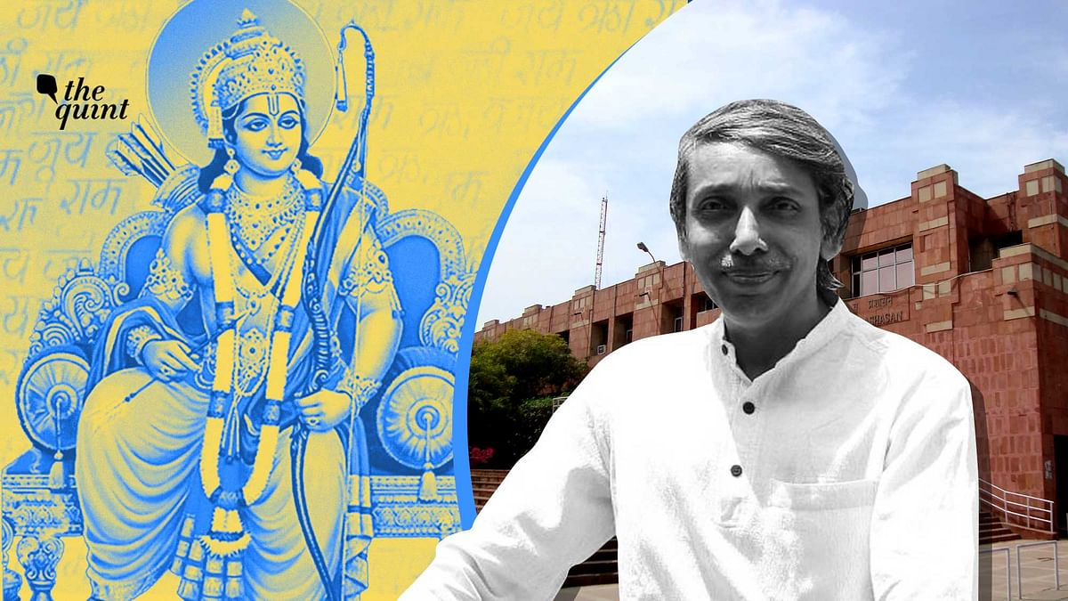 'No Reason to Oppose Ramayana Leadership Lesson': JNU VC Mamidala