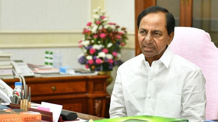 File image of Chief Minister K Chandrasekhar Rao.