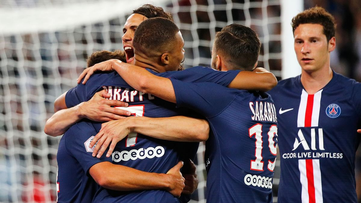 France's football league declared the season over on Thursday, with Paris Saint-Germain named as Ligue 1 champions.