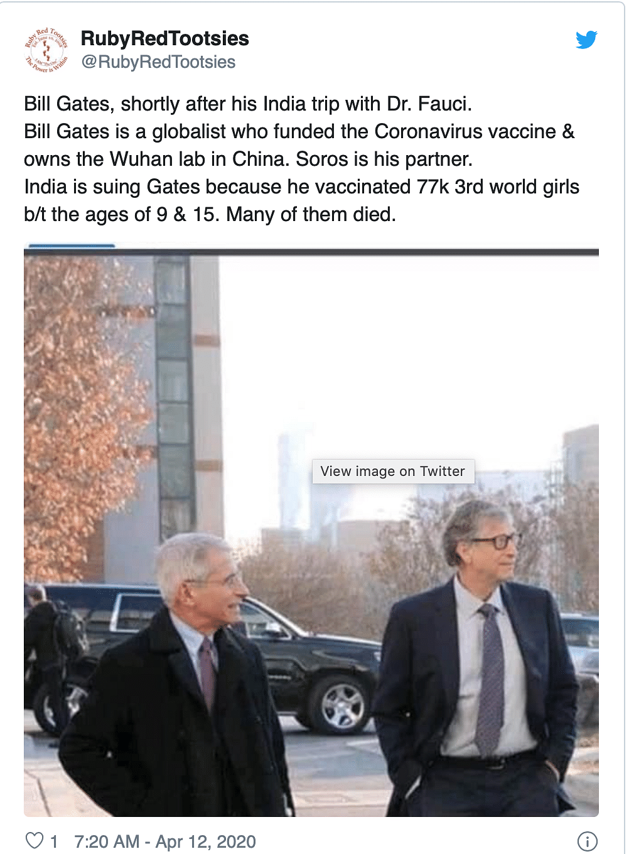India Suing Bill Gates? No, Viral Facebook Post Makes False Claims