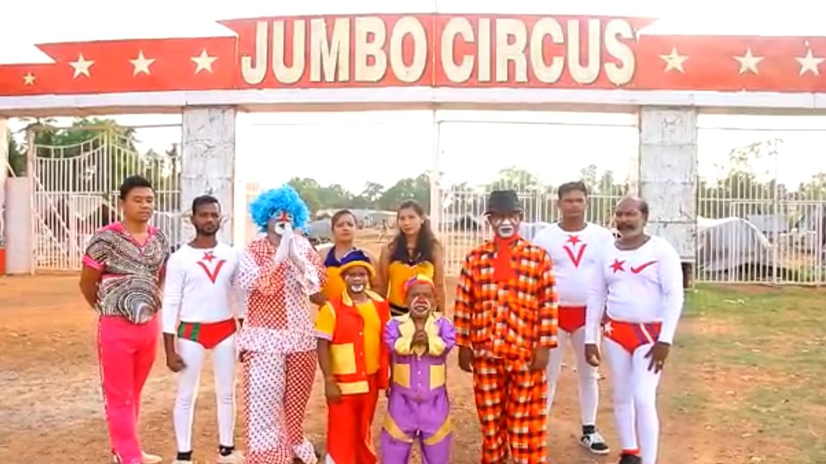 With 30 Animals & 350 Staff, Jumbo Circus Reels Under Lockdown