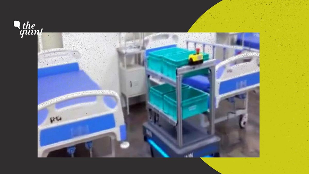 Robot Tech Used in Bengaluru Hospital to Reduce Risk of COVID-19