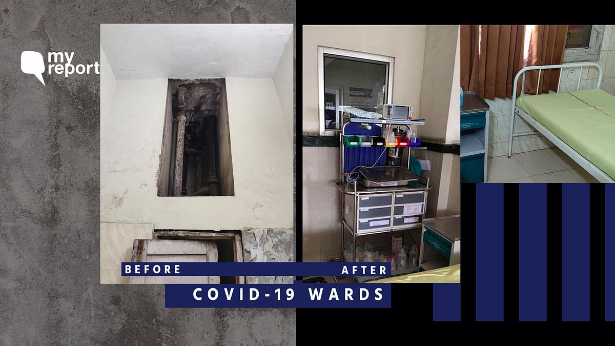 My Report Impact: 'Sonipat COVID-19 Ward Cleaned and Sanitized'