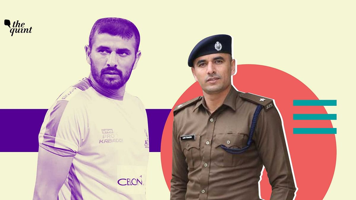 Indian kabaddi star Ajay Thakur is currently serving on duty as a Deputy Superintendent of Police in Himachal Pradesh.
