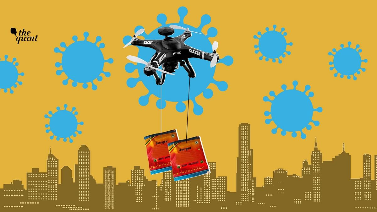Drone Paan Masala Supply in Gujarat Busted via TikTok; Two Nabbed