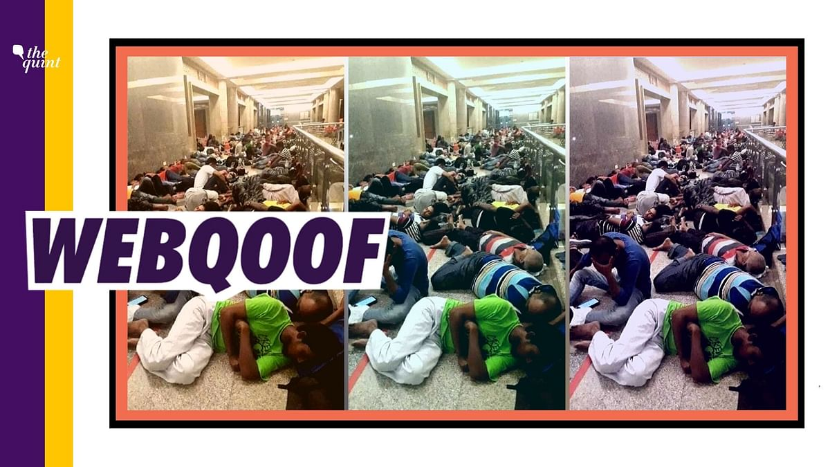 People Violating Lockdown in Gujarat? No, Image is from Malaysia