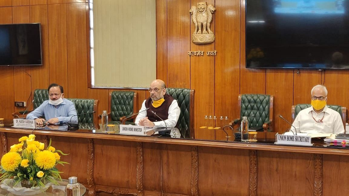 Home Minister Amit Shah on Wednesday, 22 April, interacted with IMA's doctors through video conference and assured them security.