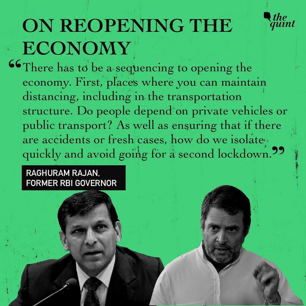 COVID-19: India Needs Rs 65k Crore to Aid Poor, Rajan Tells Rahul