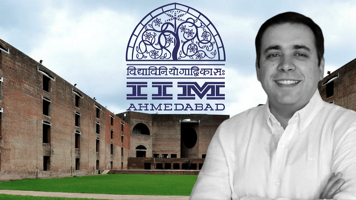 Amit Karna, Business Policy professor and head of placements at IIM Ahmedabad.