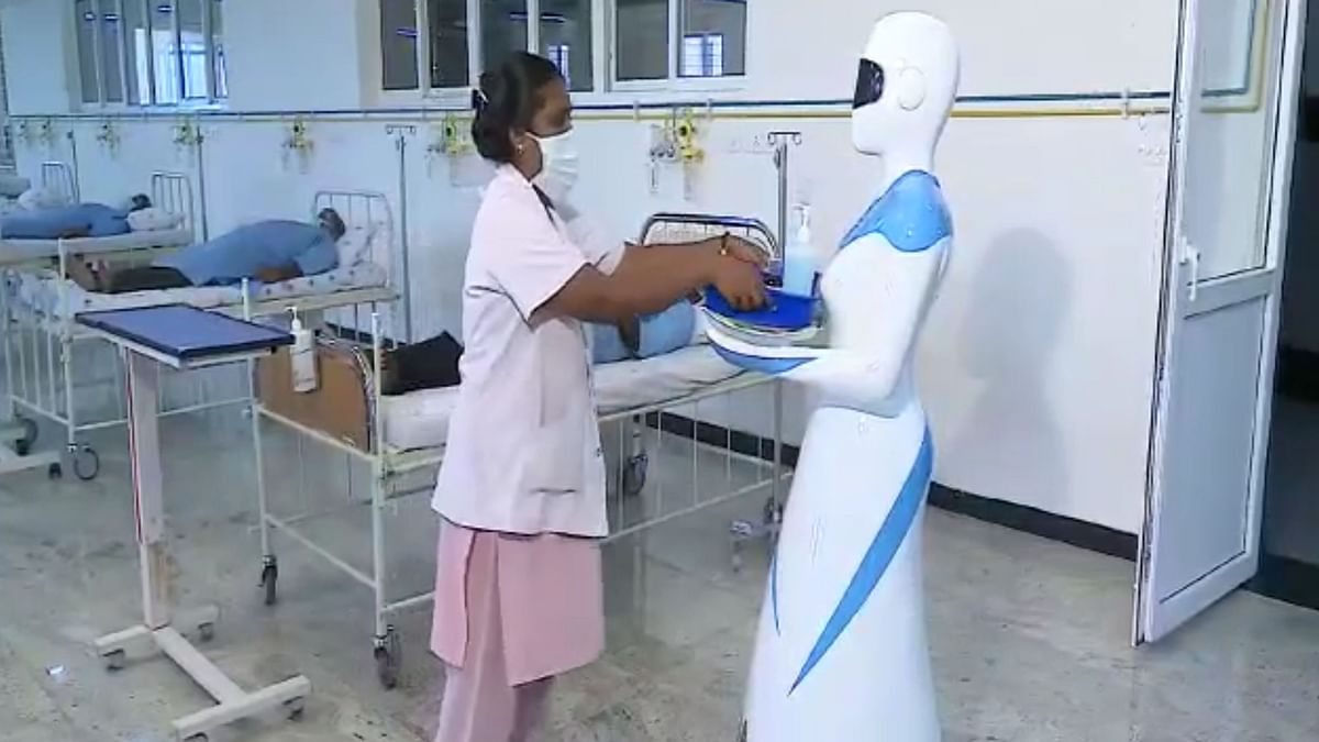 Coimbatore Firm Makes Robot Nurse, UV-Ray Tower to Combat COVID-19