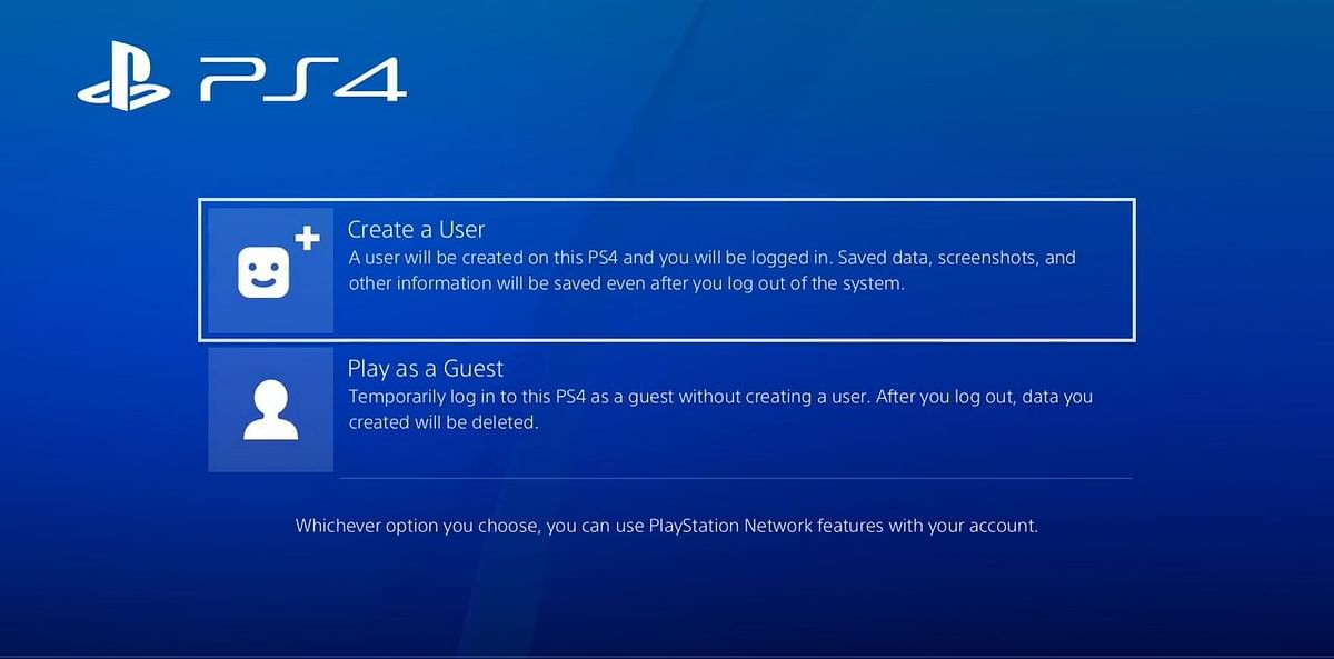 You need to create a new user using your friend's PSN ID.