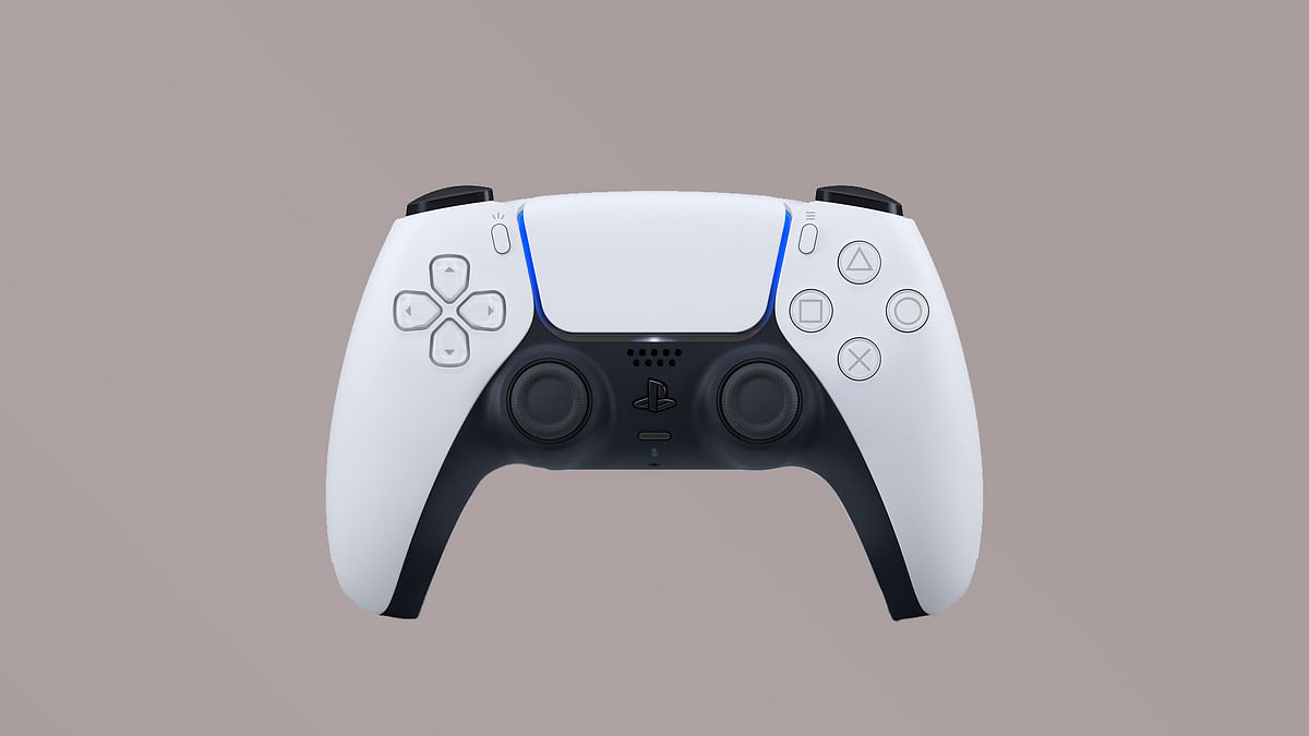 The new PlayStation 5 Dual Shock Controller.