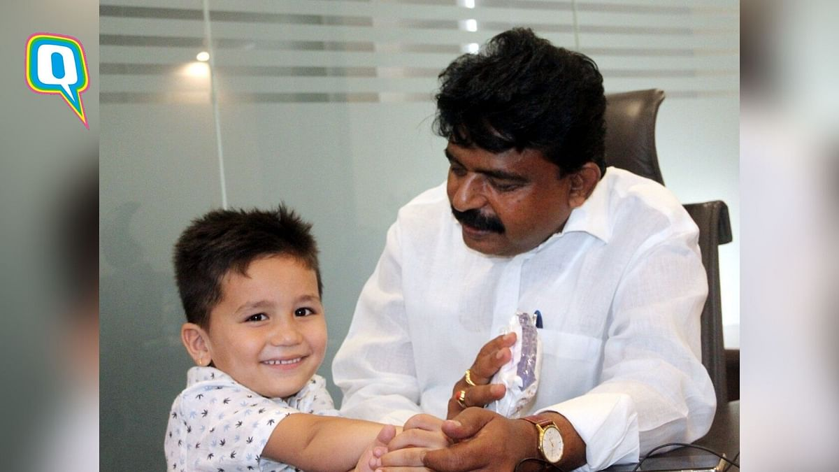 4-Year-Old Boy Gives up Cycle, Donates Savings for COVID-19