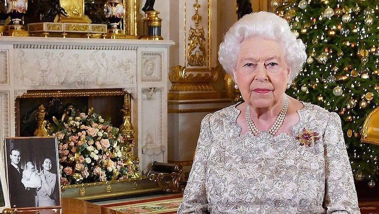 Queen Elizabeth II issued an Easter message from Windsor Castle.