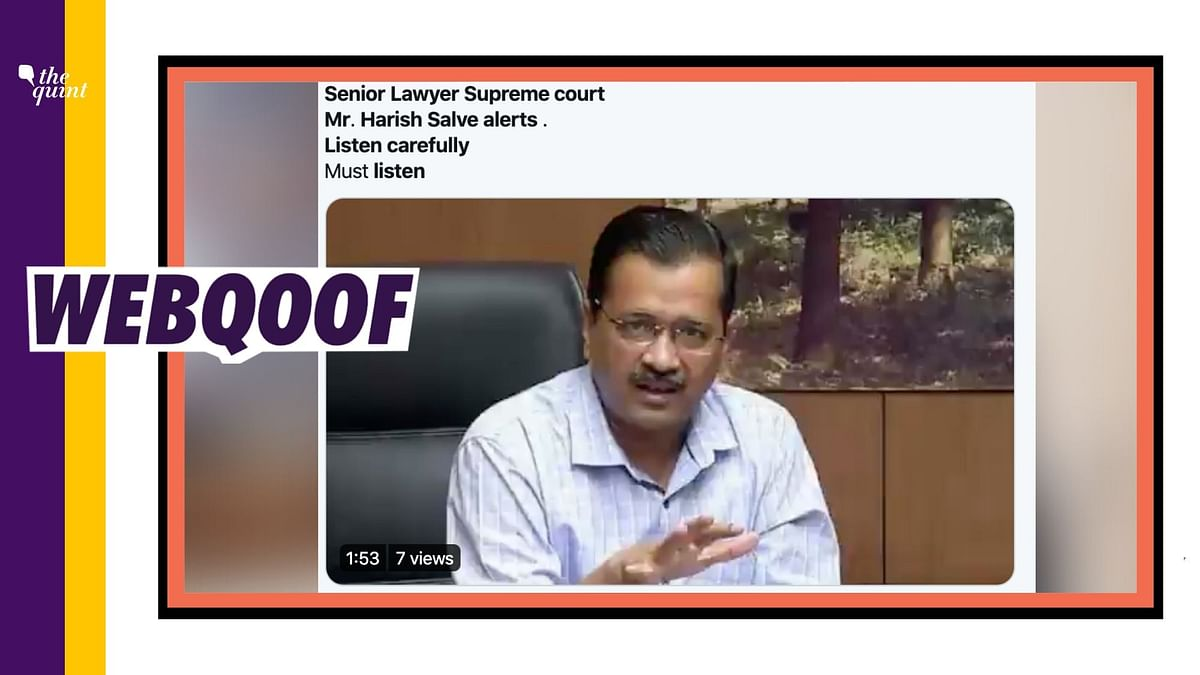 Audio Blaming Kejriwal for Migrant Crisis Falsely Linked to Salve