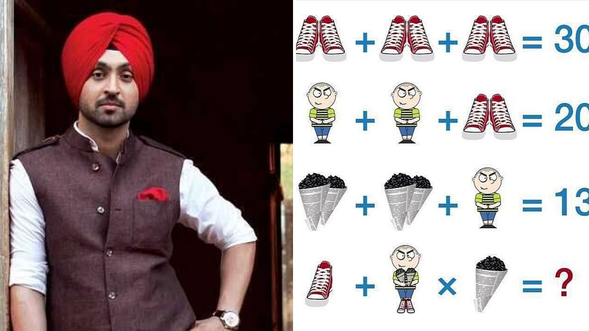 Diljit Shared a Brainteaser & Nobody is Getting the Right Answer