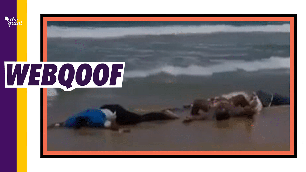Bodies of COVID-19 Patients Dumped in Sea? No, Video is From 2014