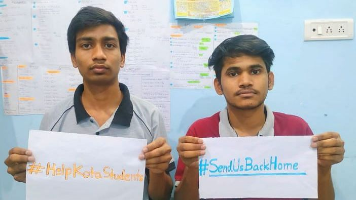 #SendUsBackHome: Kota Students Appeal, DM Says No One Must Travel
