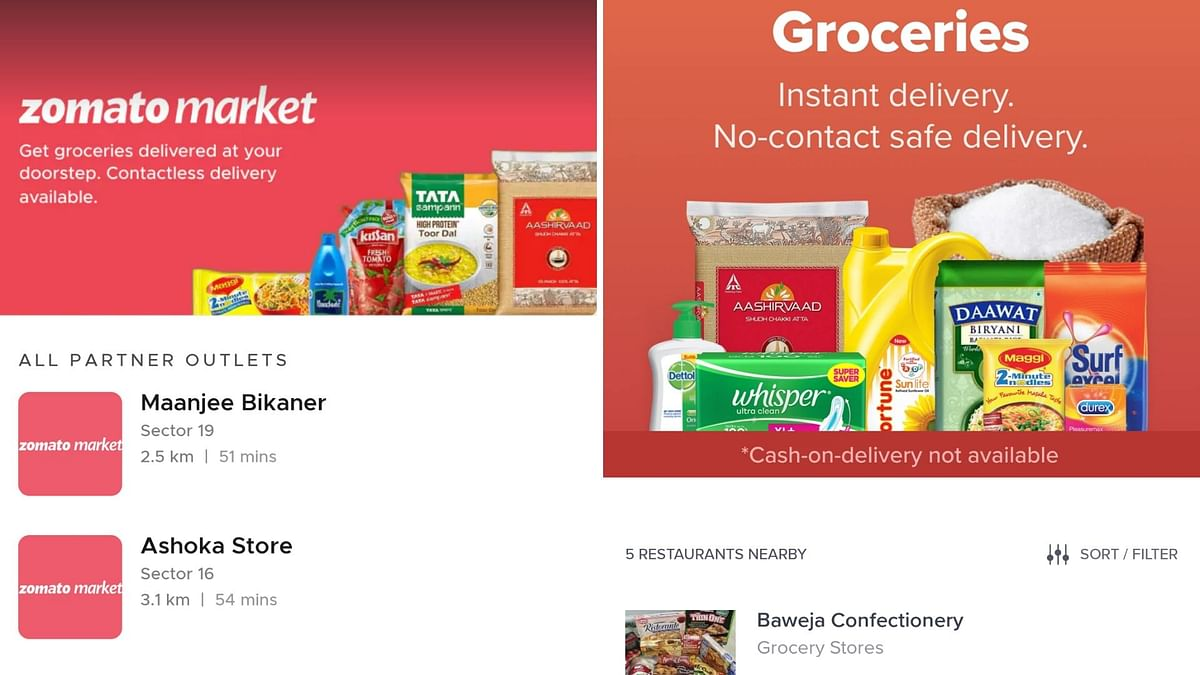 Swiggy, Zomato and Uber Now Making Grocery Deliveries In Your City