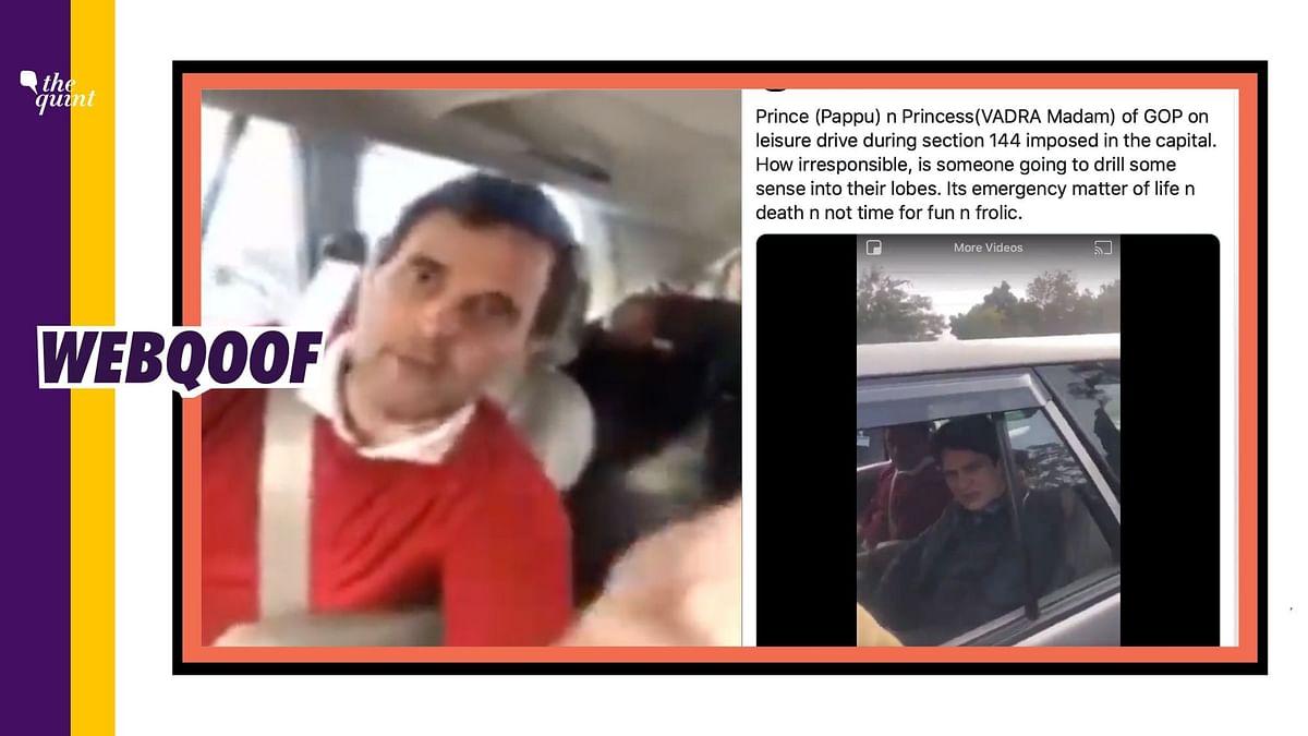 Rahul, Priyanka Gandhi Violating Lockdown? No, It's an Old Video
