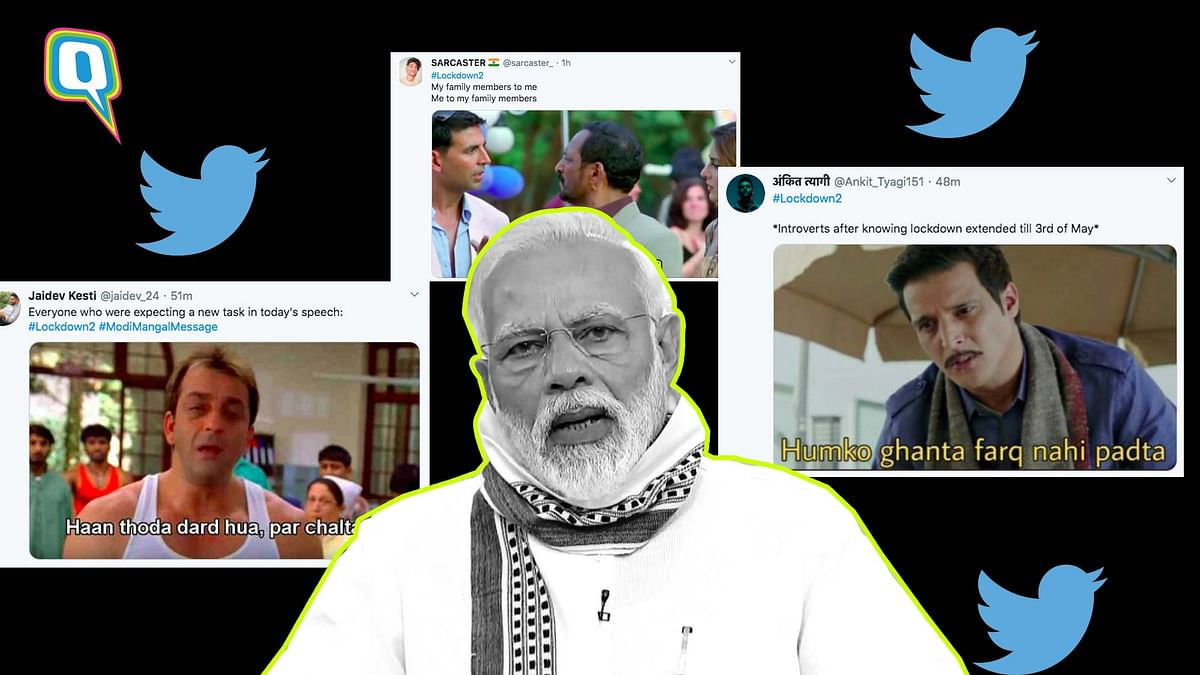 As Modi Extends Lockdown, Twitter Reacts With Hilarious Memes