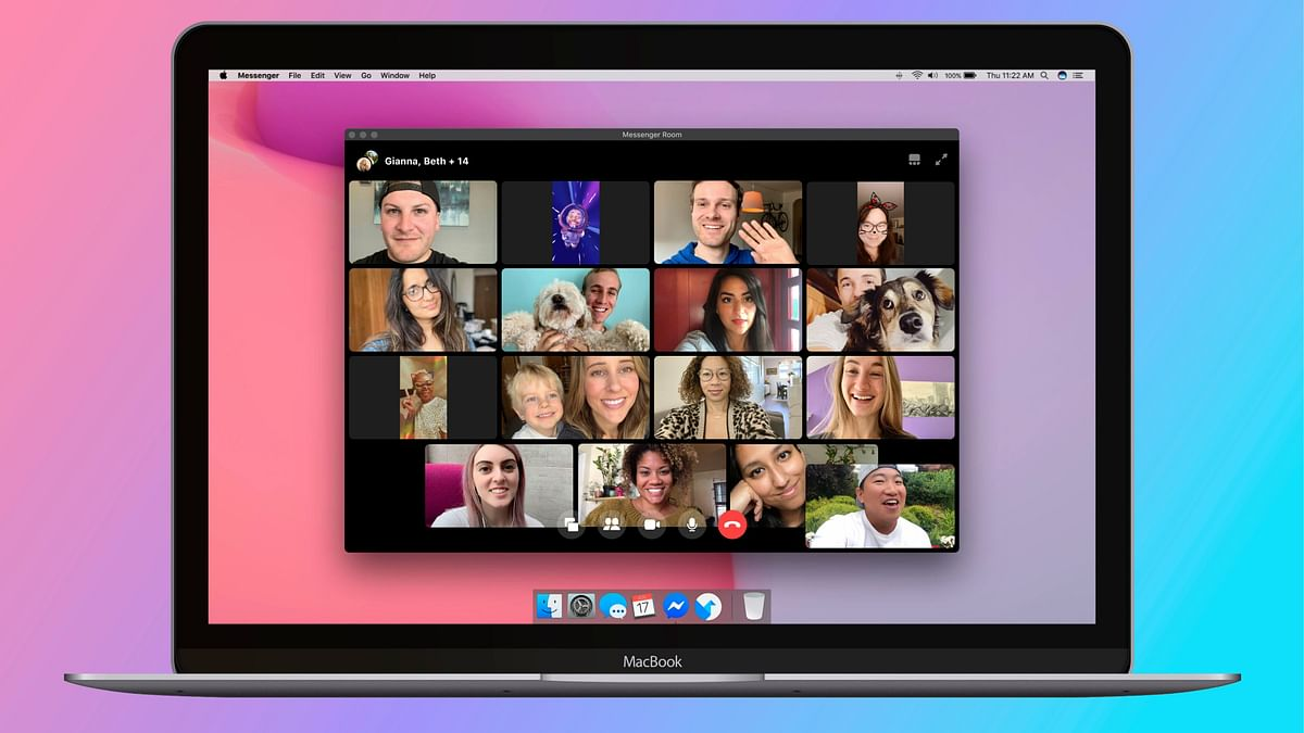 Messenger Rooms allows up to 50 participants in a video call.