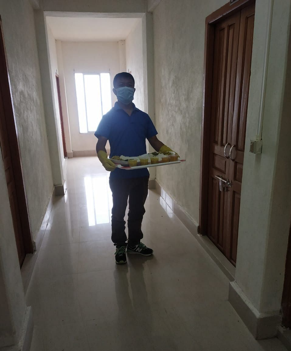 The staff was helpful to all residents.