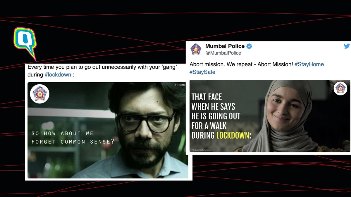 10 Times Mumbai Police's Social Media Lockdown Game Was On Point!