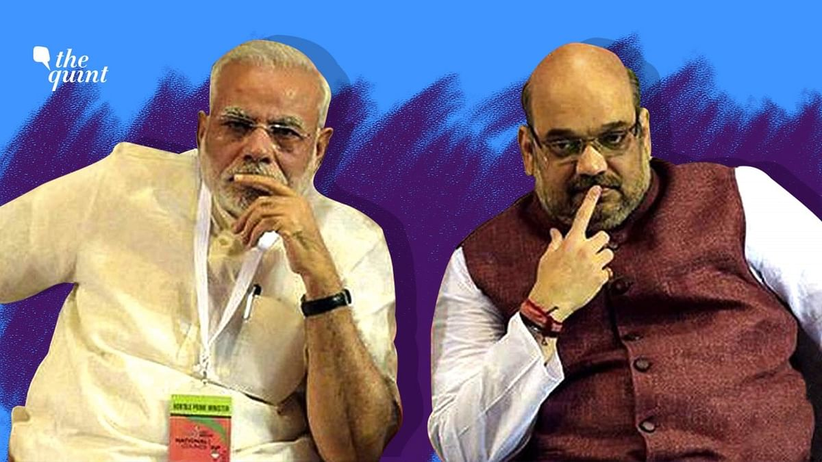 File image of Prime Minister Narendra Modi and Home Minister Amit Shah.