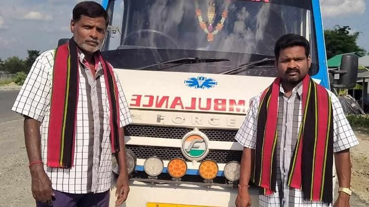 Chennai Ambulance Drivers Take Mizoram Youth's Body Home