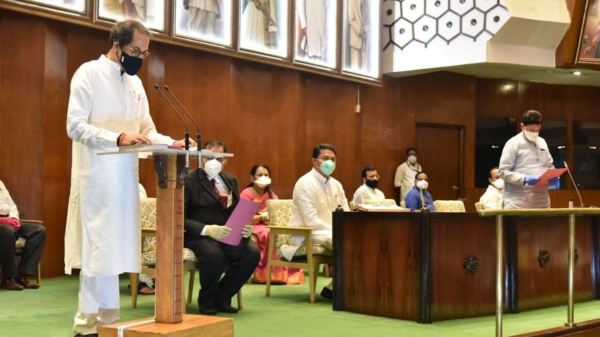 Maha CM Uddhav Thackeray, 8 Others Take Oath as MLCs
