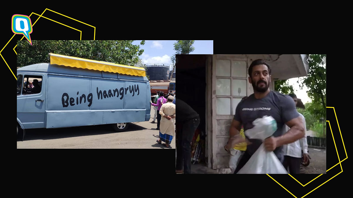 Salman Khan's 'Being Haangryy'- A Bid To Help Needy With Ration