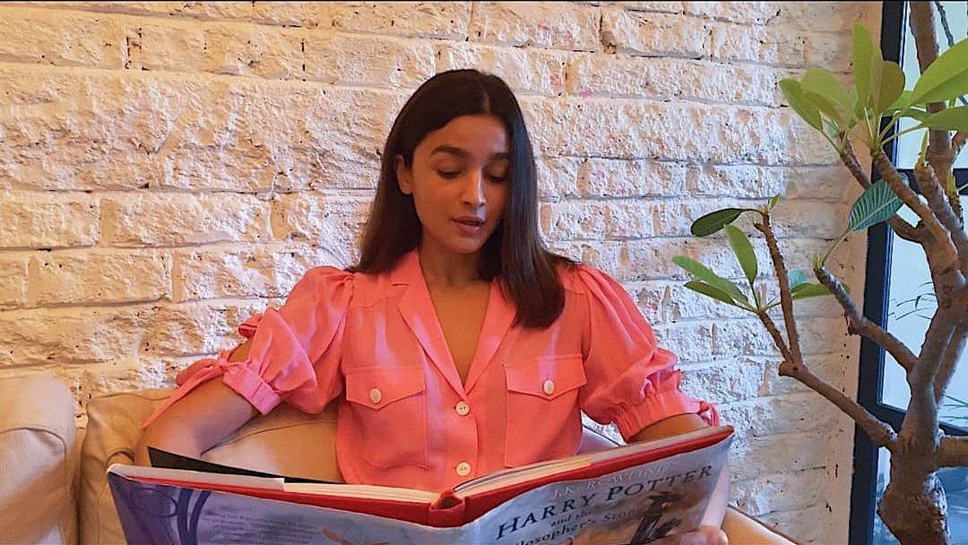 Alia Bhatt reads from <i>Harry Potter and The Philosopher's Stone</i>.