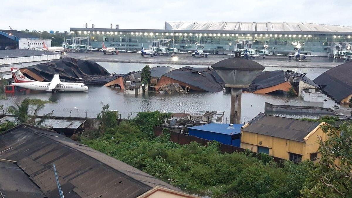 Flooded Runway, Fallen Roof: Cyclone Amphan Wrecks Kolkata Airport