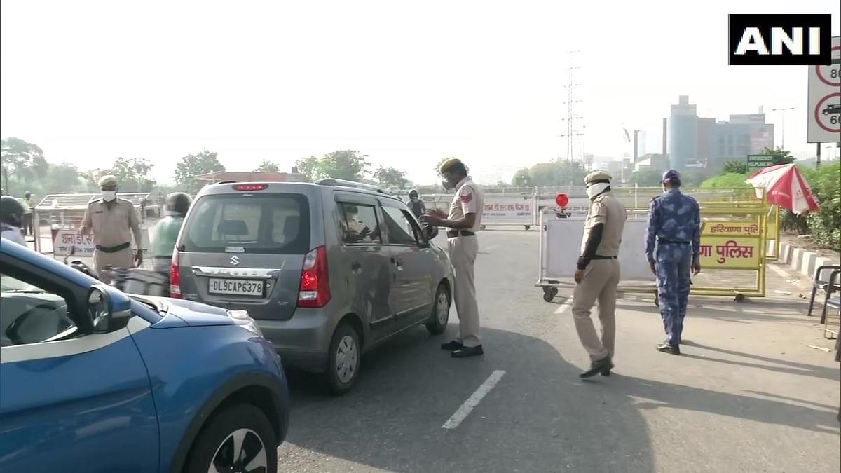 Delhi-Gurugram Border Sealed Amid Fear of Rise in COVID-19 Cases