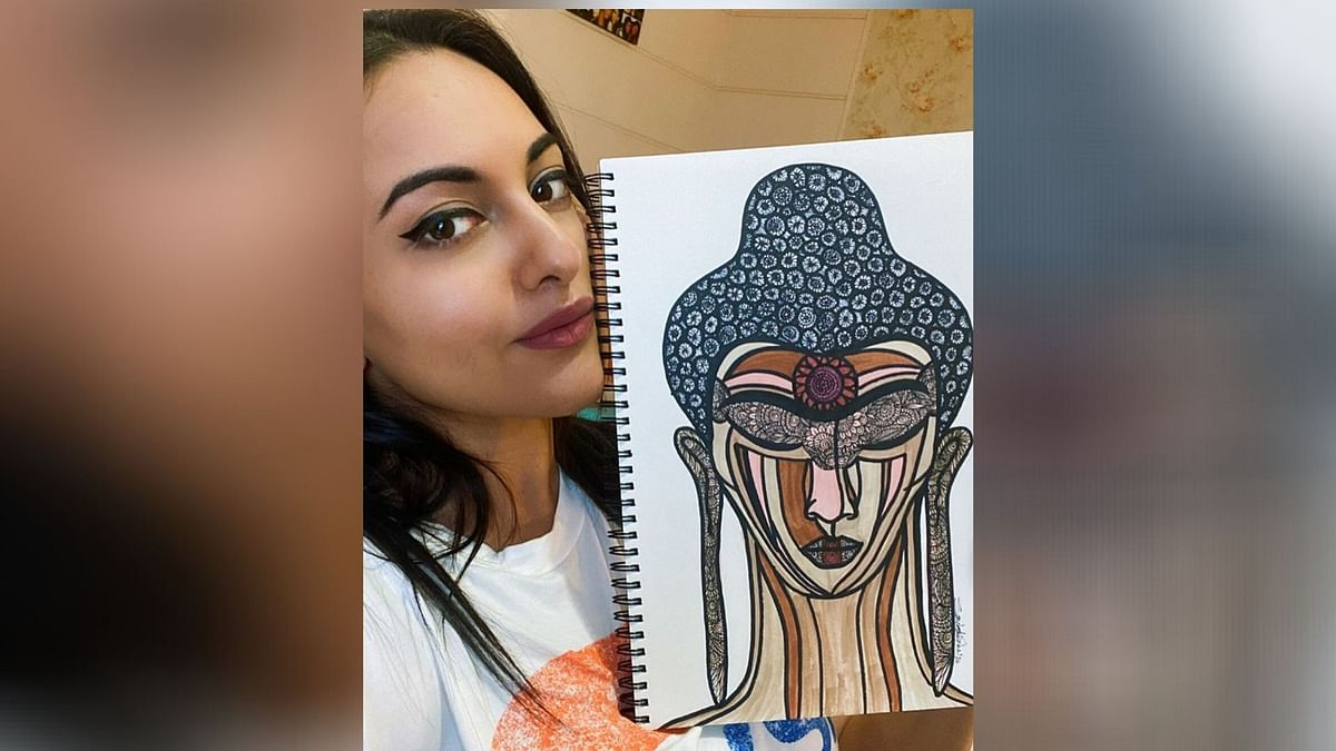 The Enlightened One: Sonakshi Auctions Her Piece to Help Migrants