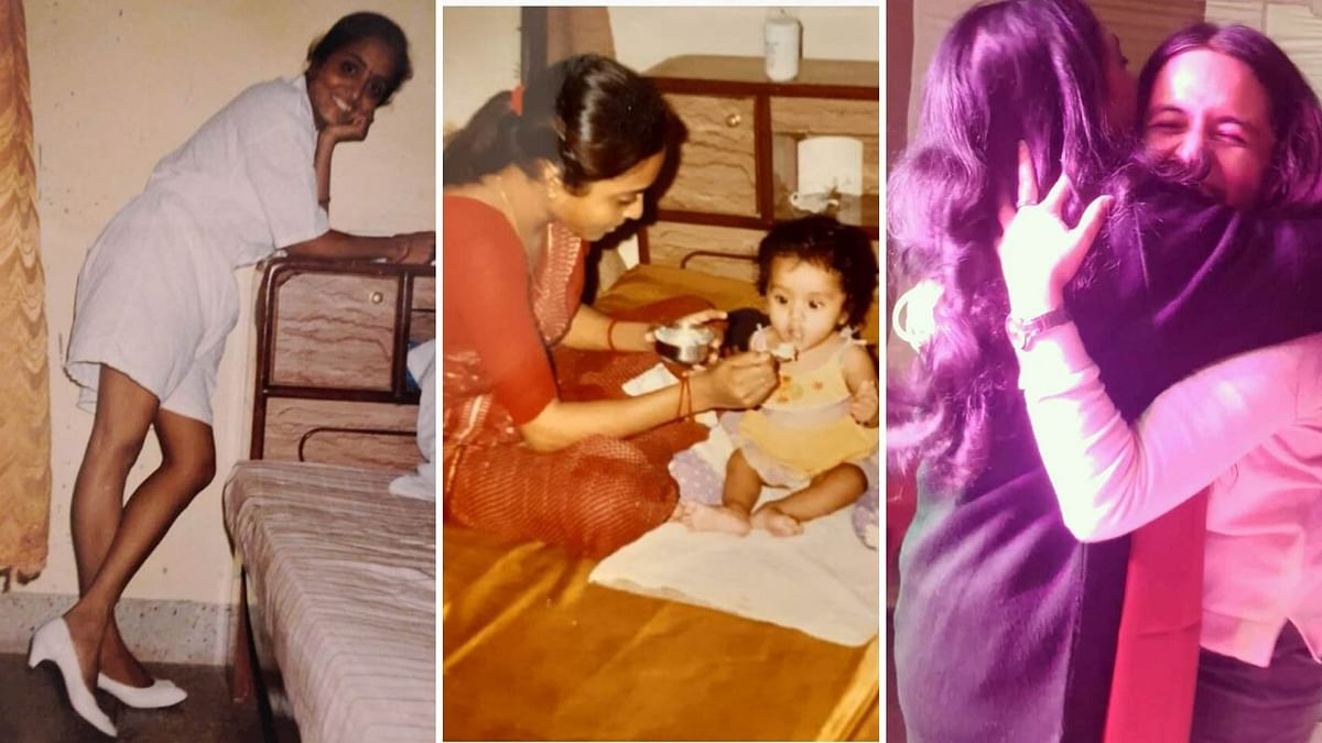 Snippets of a few moments shared with my mother over the years.