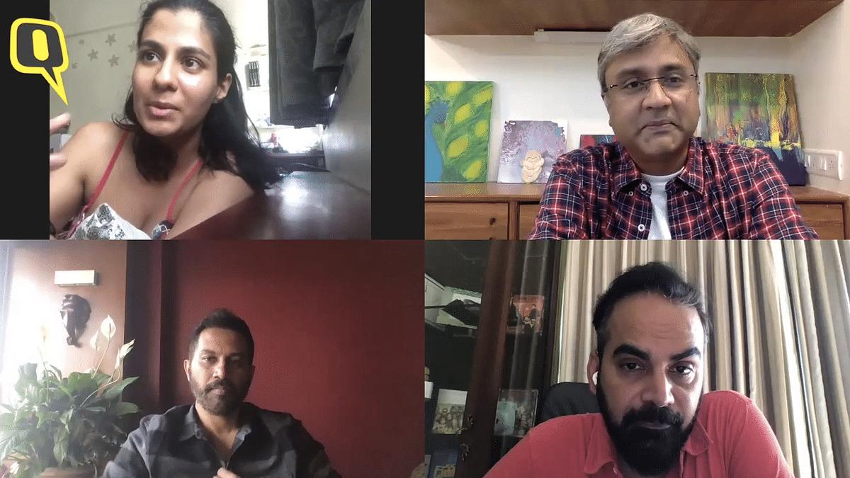 Shreya Dhanwanthary, Raj Nidimoru and Krishna DK chat about their new production <i>A Viral Wedding.</i>