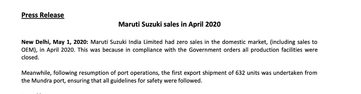 The company has suspended operations on 22 March this year.