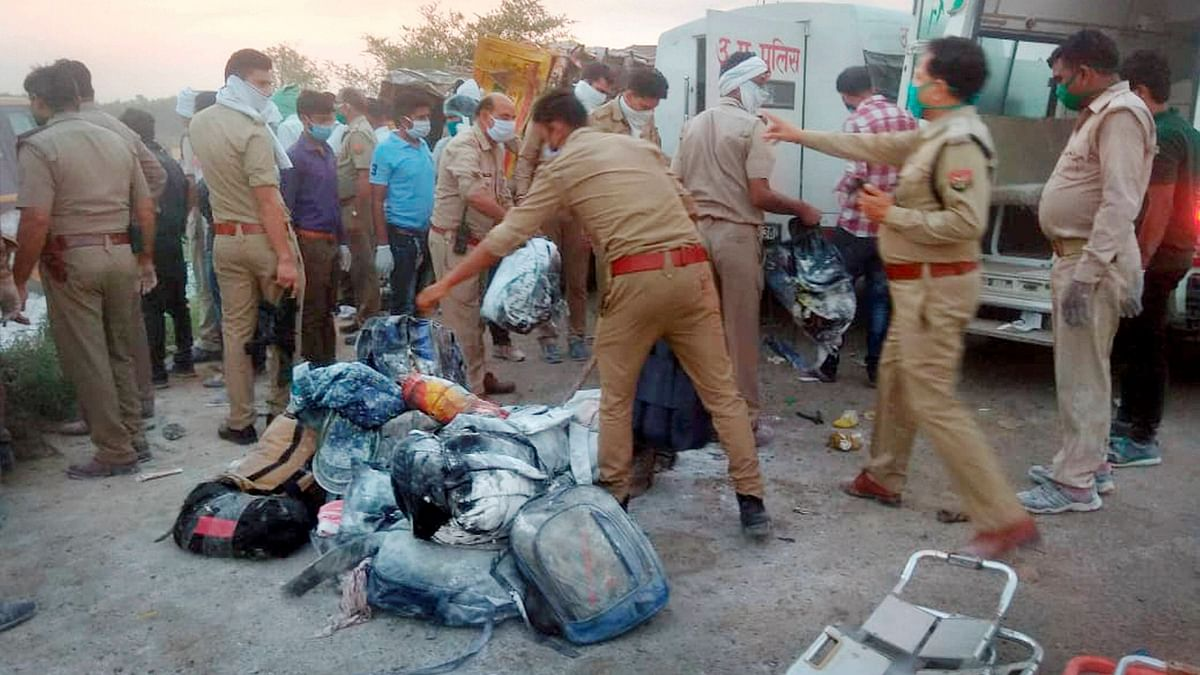 UP Truck Accident Kills 24 Migrant Workers, PM Offers Condolences
